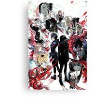 Anime crossover Canvas Print