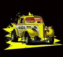 Volkwagen Hotrod by davidsrounds
