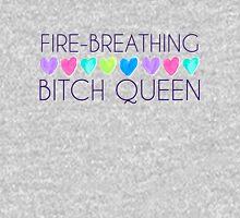 Fire-Breathing Bxtch Queen T-Shirt