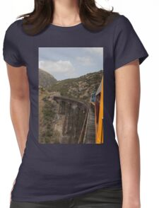 Taieri Gorge Womens Fitted T-Shirt