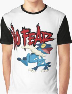 NoFearFrogadier logo Graphic T-Shirt