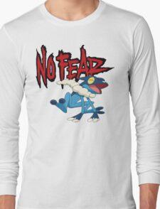 NoFearFrogadier logo Long Sleeve T-Shirt