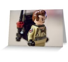 Dr Peter Venkman Greeting Card
