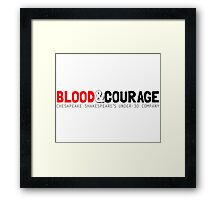 Blood & Courage: Chesapeake Shakespeare's Under-30 Company Framed Print
