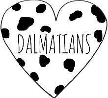 Dalmatian Love by Bundjum