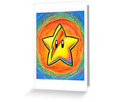Starman Greeting Card