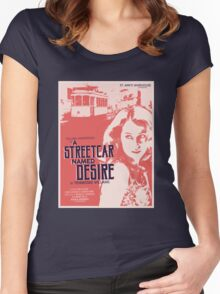 A Streetcar Named Desire Women's Fitted Scoop T-Shirt
