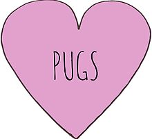 PUG LOVE by Bundjum