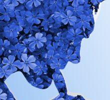 Morrissey in flowers Sticker