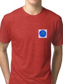 Blue Sunflower Tri-blend T-Shirt