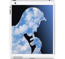 Morrissey in clouds iPad Case/Skin