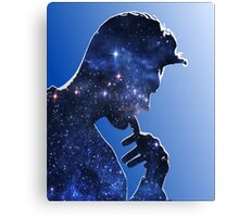 Morrissey in stars Canvas Print