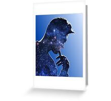 Morrissey in stars Greeting Card