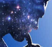 Morrissey in stars Sticker
