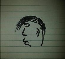 A Little Face in Profile (Jebediah) by BlakeLS