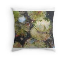 Forest Pond Throw Pillow