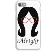 Alright // Linda iPhone Case/Skin