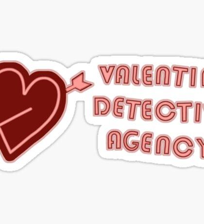 Valentine Detective Agency Sticker