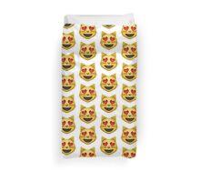 Heart Eyes Cat Emoji Duvet Cover