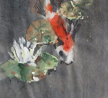 Koi Study by williampreston