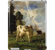 Cow Kidnapping iPad Case/Skin