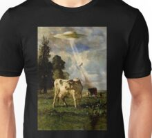 Cow Kidnapping Unisex T-Shirt