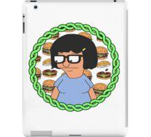 Tina ft Burgers iPad Case/Skin