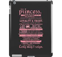 I Am a Princess (version 2) iPad Case/Skin