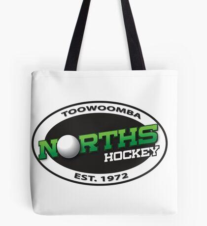 Norths Hockey of Toowoomba white logo range Tote Bag