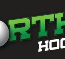 Norths Hockey of Toowoomba white logo range Sticker