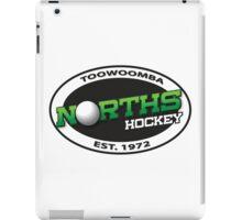 Norths Hockey of Toowoomba white logo range iPad Case/Skin