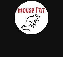 mouse rat white circle Unisex T-Shirt
