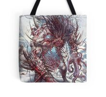 DEMON ZOMBIES Tote Bag