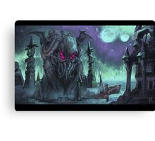 Cthulhu Calling Canvas Print