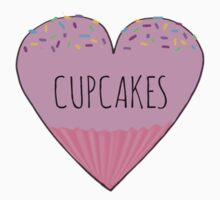 I LOVE CUPCAKES! Kids Clothes