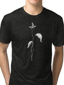 First Bloom ~{Black & White}~ Tri-blend T-Shirt