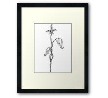 First Bloom ~{Black & White}~ Framed Print