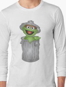 Oscar the Grouch Long Sleeve T-Shirt