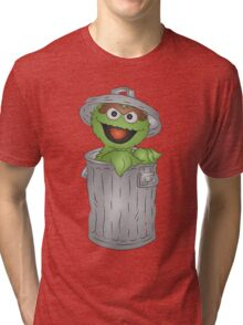 Oscar the Grouch Tri-blend T-Shirt