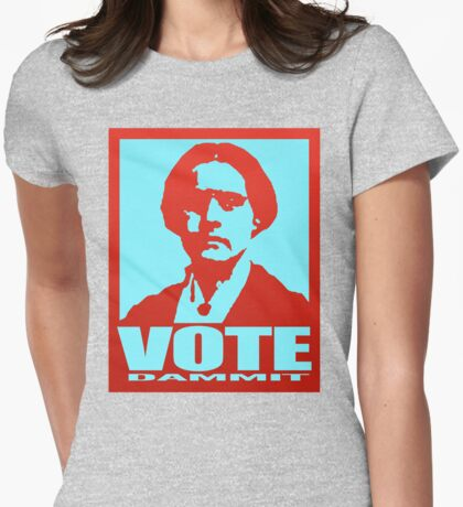 Vote Dammit Womens Fitted T-Shirt