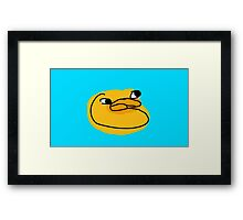 Sebastian Savage Duck Framed Print