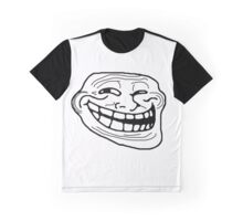 Funny Troll Face Meme Graphic T-Shirt