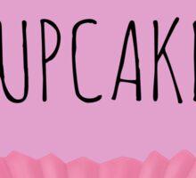 I LOVE CUPCAKES! Sticker