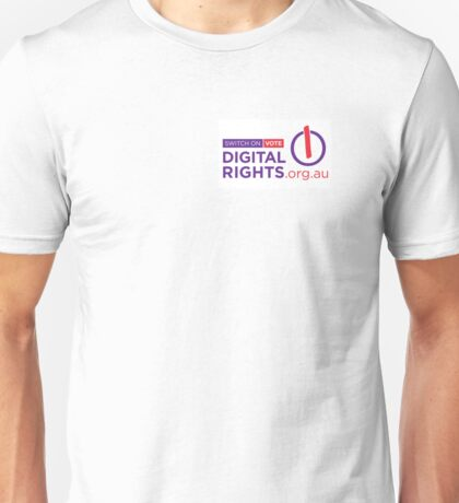 Digital Rights Australia Unisex T-Shirt