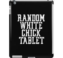 Random white chick stuff iPad Case/Skin