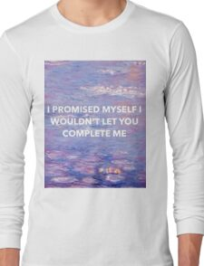 Halsey - Is There Somewhere Lyrics Long Sleeve T-Shirt