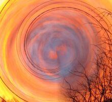 Mystical Sunset Sticker