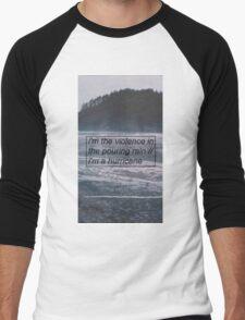 Halsey - Hurricane Lyrics 2 Men's Baseball ¾ T-Shirt