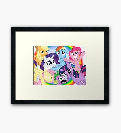 My Little Pony MLP Framed Print