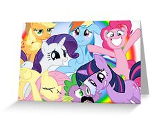 My Little Pony MLP Greeting Card
